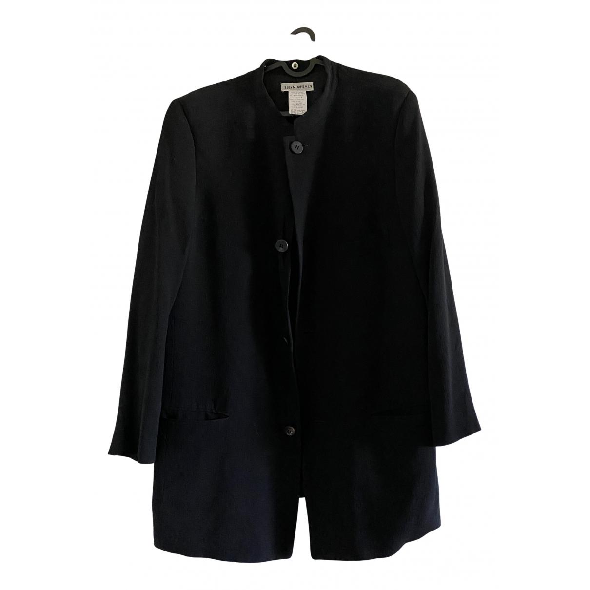 Issey Miyake \N Black coat  for Men M International