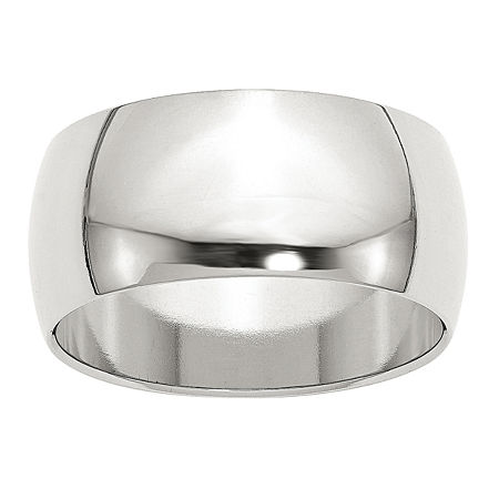 10MM Sterling Silver Wedding Band, 10 1/2 , No Color Family