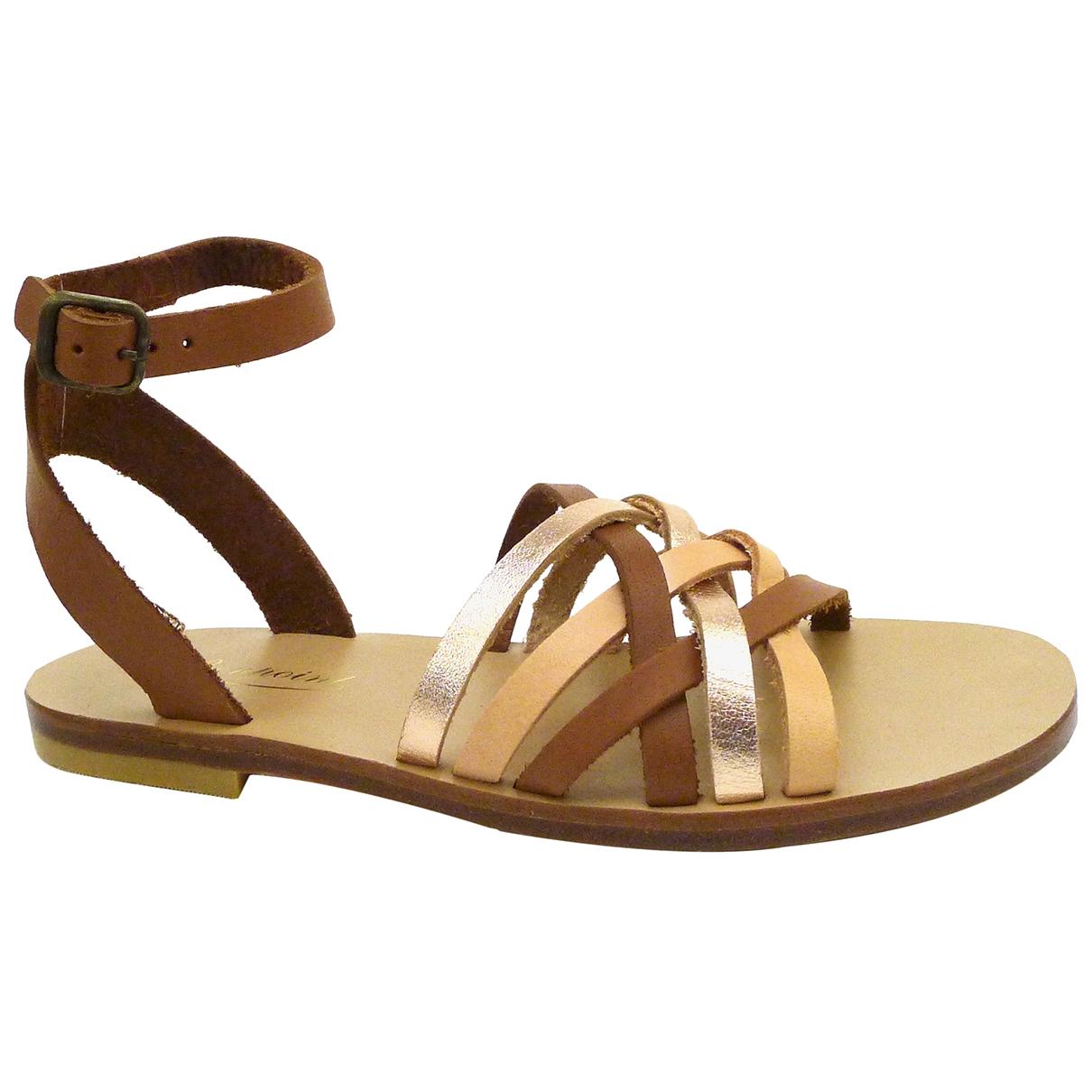 Sandalias de Cuero Bonpoint