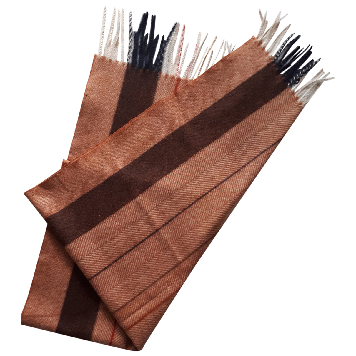 Autre Marque N Brown Wool scarf for Women N