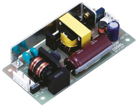 Cosel , 30W Embedded Switch Mode Power Supply (SMPS), 12V dc, Open Frame