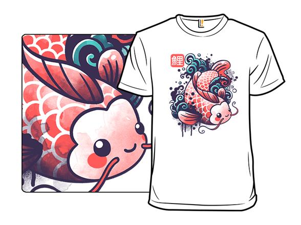 Watercolor Koi T Shirt
