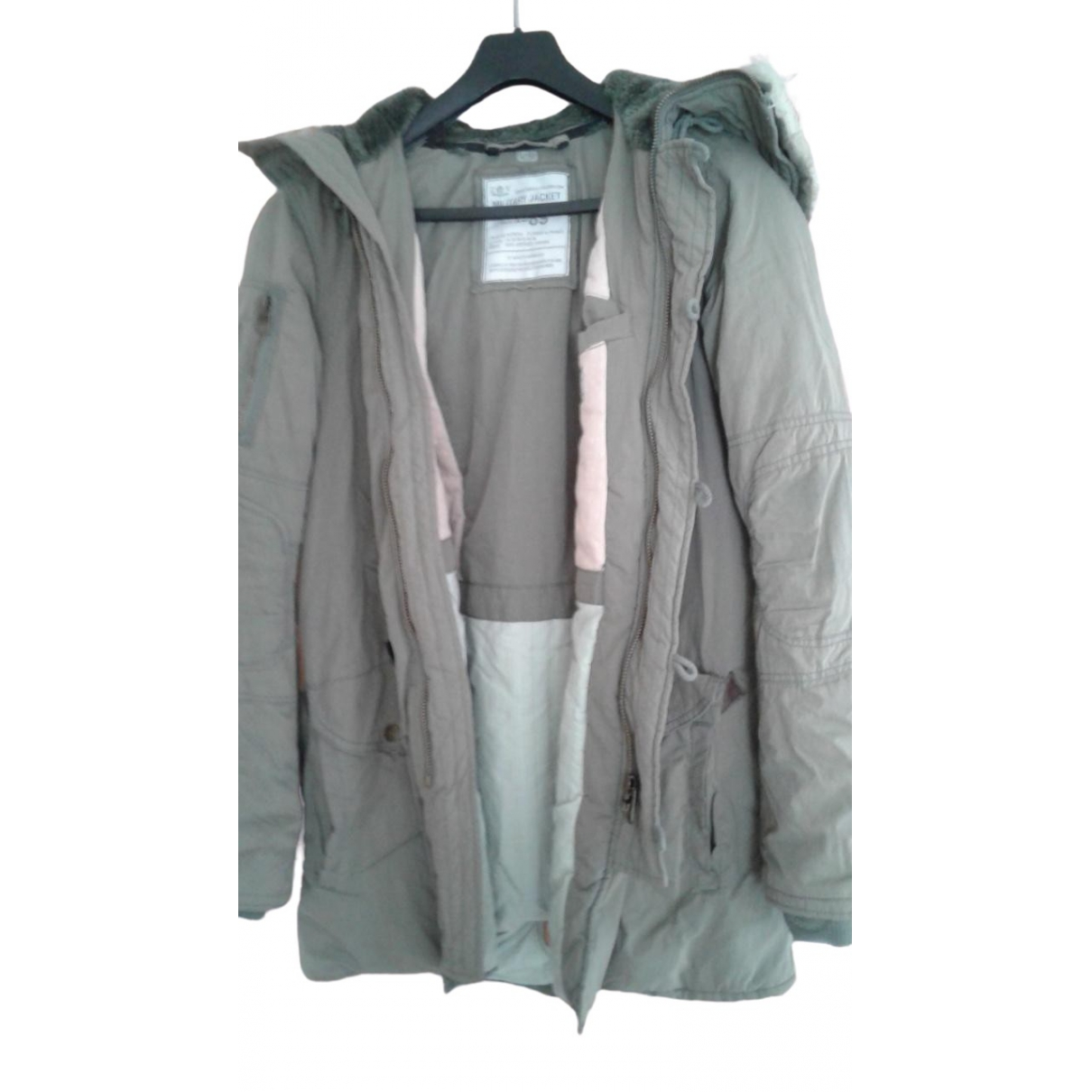 Zadig & Voltaire \N Khaki Cotton jacket for Women M International