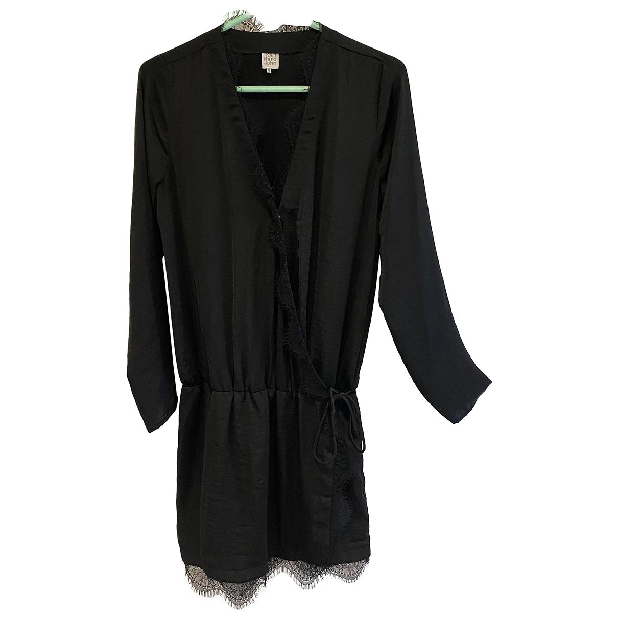 Karl Marc John \N Kleid in  Schwarz Polyester