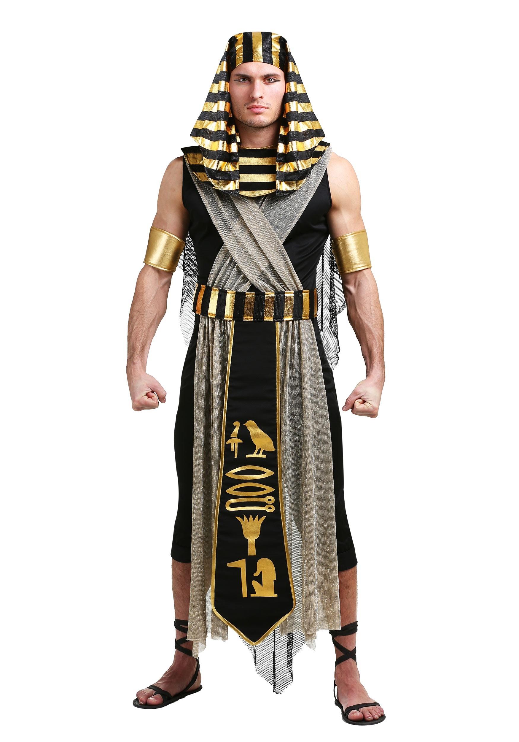 All Powerful Pharaoh Costume for Men