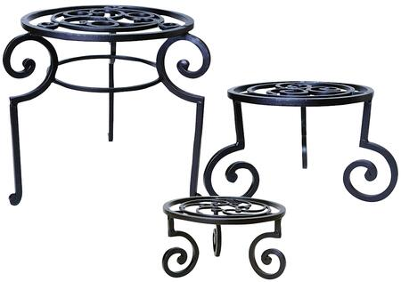 Venice Collection 951565 3-Piece Plant Stands/Garden Stools Set in