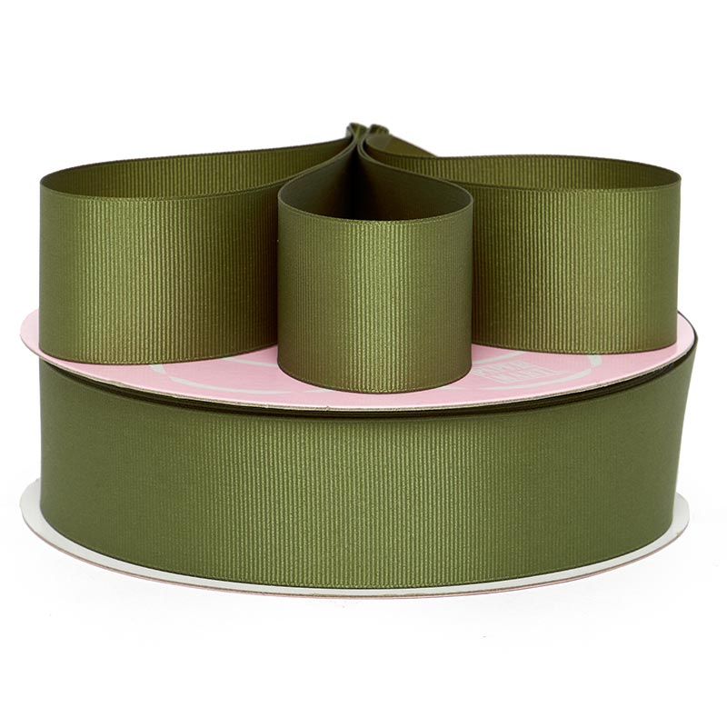 7/8 X 50 Yards Old Willow Grosgrain Ribbon by Ribbons.com