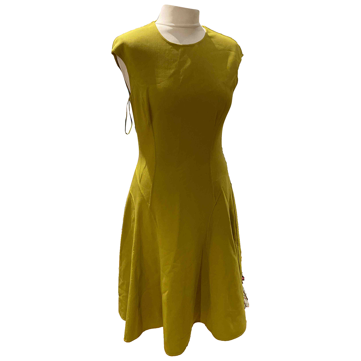 Michael Kors N Green Cotton - elasthane dress for Women 8 US