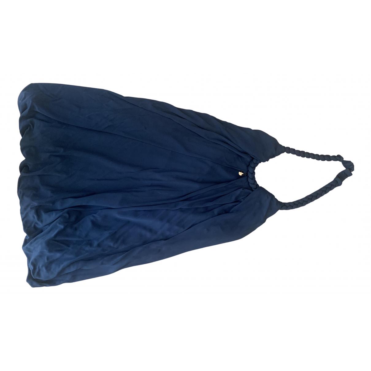Elisabetta Franchi N Blue dress for Women 34 FR