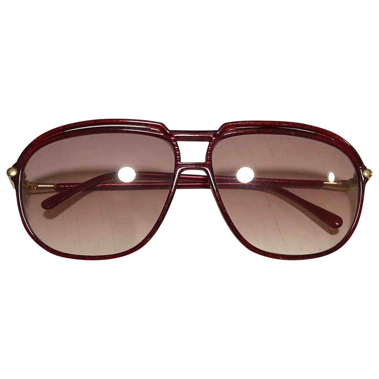 Saint Laurent \N Red Sunglasses for Men \N