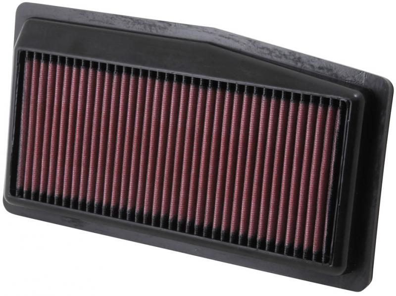 K&N 33-2492 Replacement Air Filter Chevrolet Spark 2013-2015 1.2L 4-Cyl