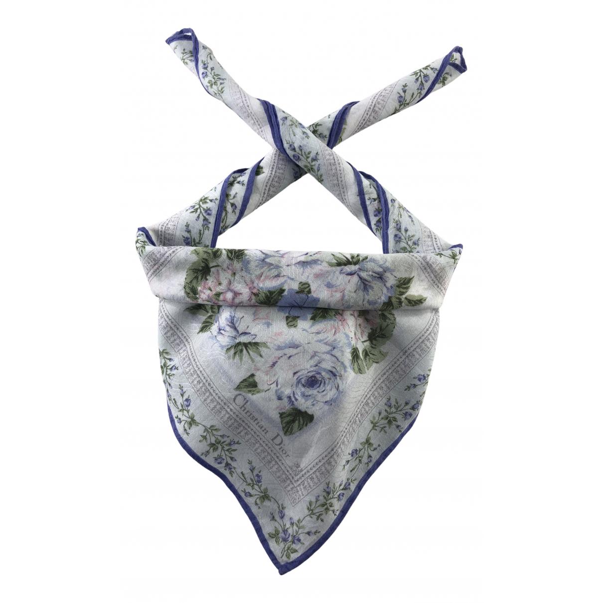 Dior N Multicolour Cotton Silk handkerchief for Women N