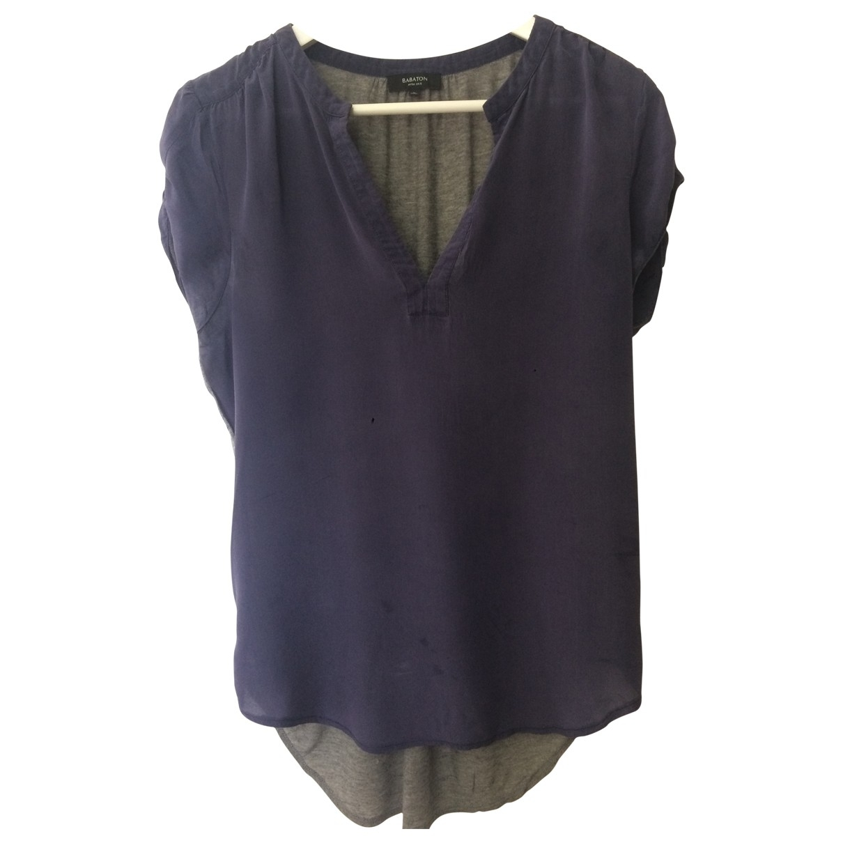 Babaton \N Navy Silk  top for Women M International