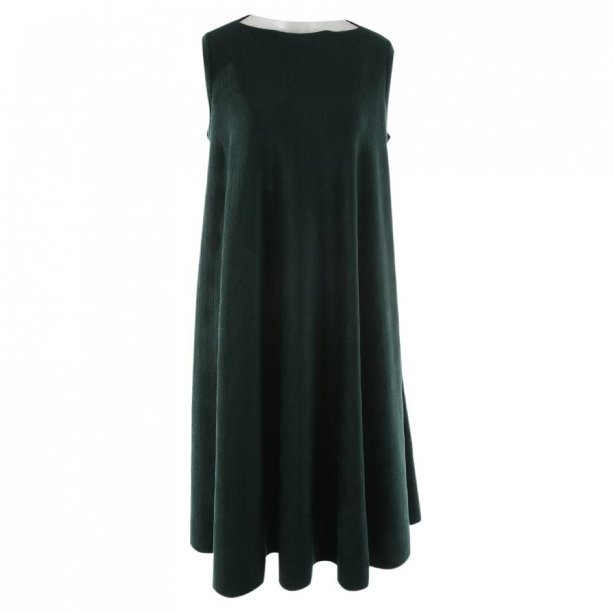 Alaia \N Kleid in  Gruen Wolle