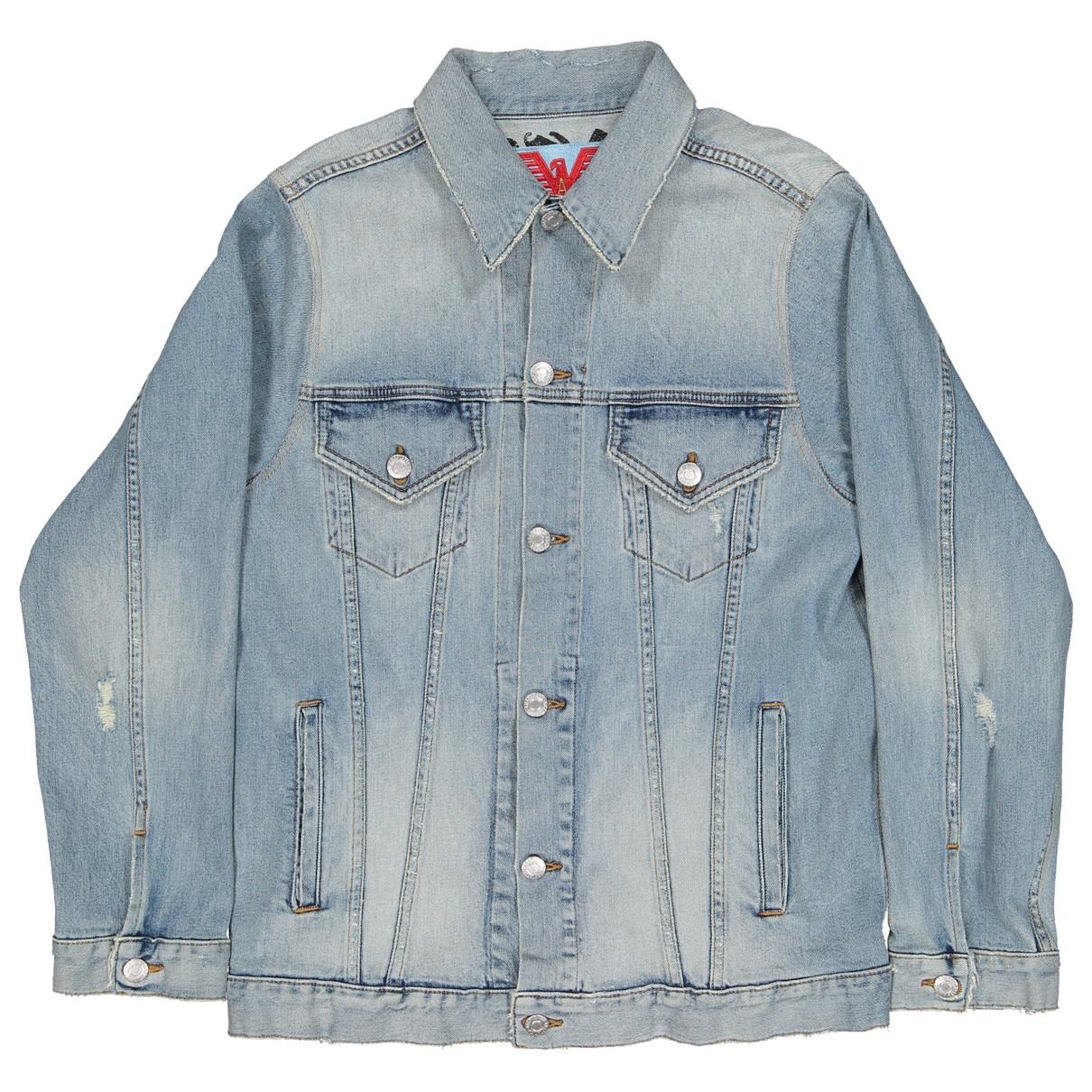 Adaptation \N Blue Denim - Jeans jacket for Women S International