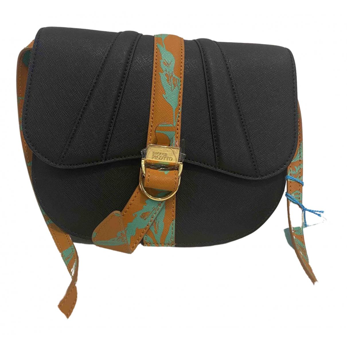 Peter Pilotto \N Black Leather handbag for Women \N