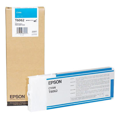 Epson T606200 Original Cyan Ink Cartridge