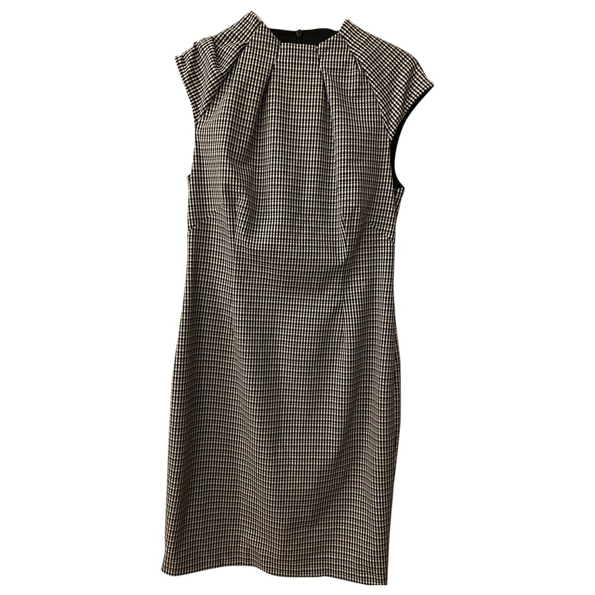 Karen Millen \N Kleid in  Schwarz Baumwolle - Elasthan