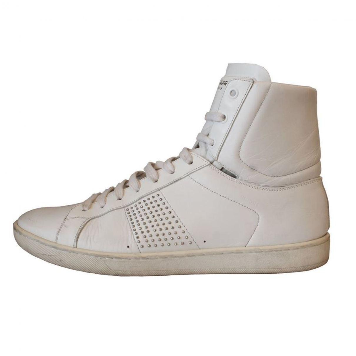 Saint Laurent \N Sneakers in  Beige Leder