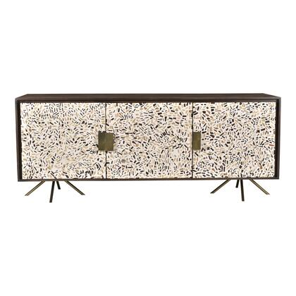 Candor Collection GZ-1015-20 Sideboard with Solid Mango Wood in Brown