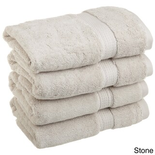 Miranda Haus Marche Egyptian Cotton Hand Towel Set (Stone)
