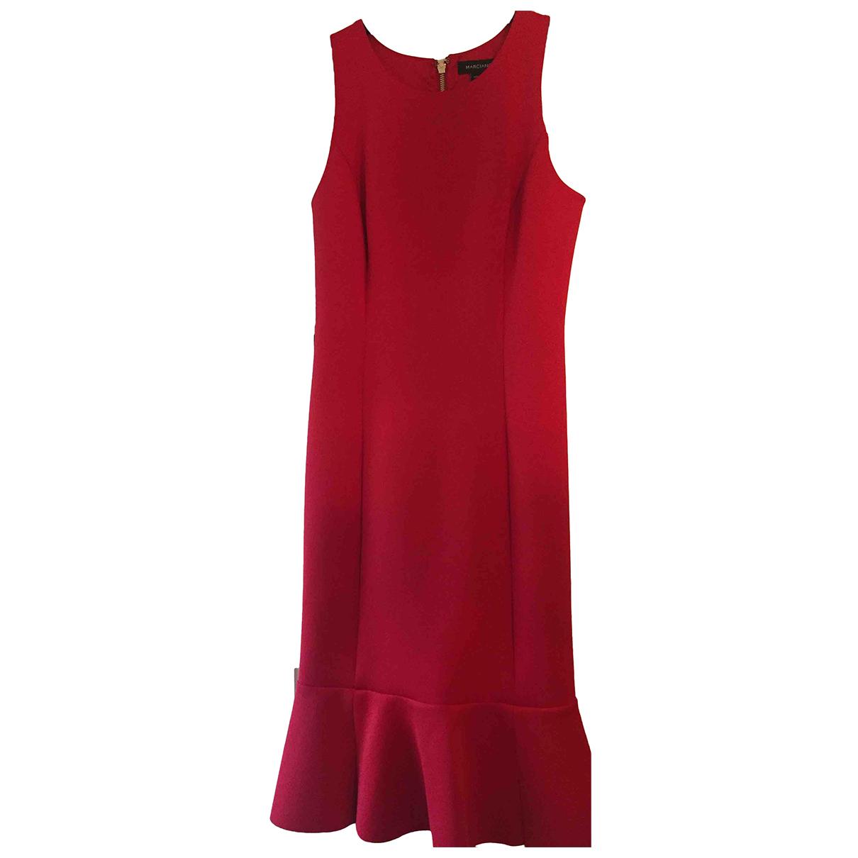 Guess \N Kleid in  Rot Viskose