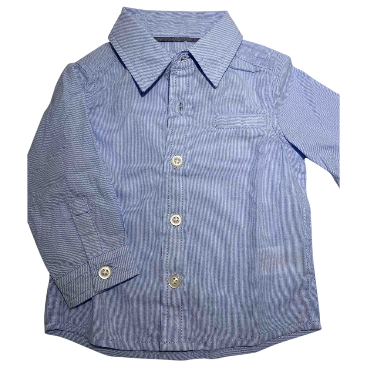 Autre Marque - Top   pour enfant en coton - bleu