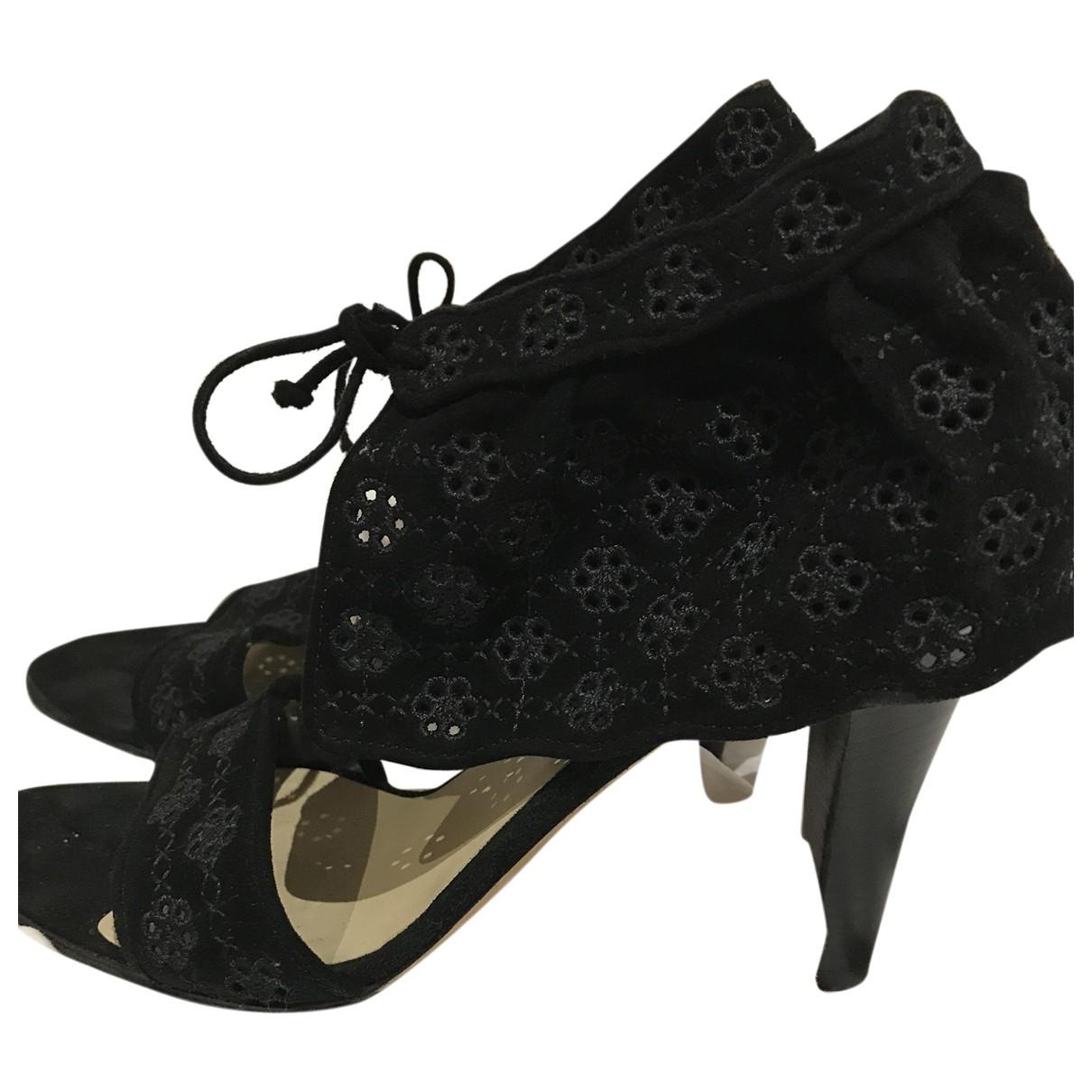 Paul & Joe \N Black Leather Heels for Women 38.5 EU