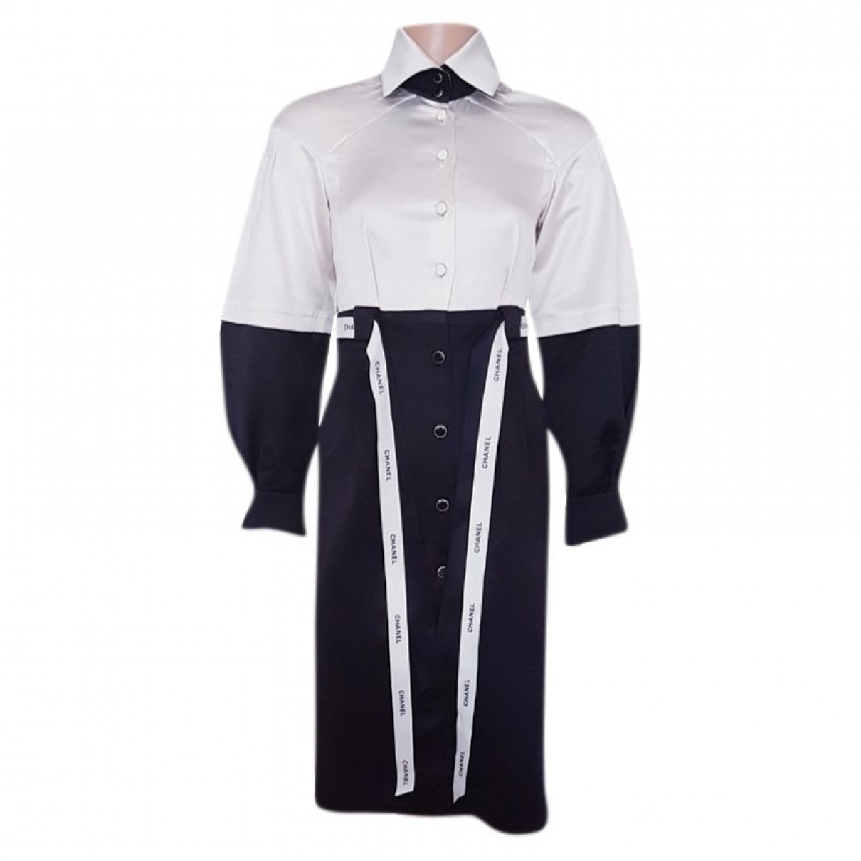 Chanel - Robe   pour femme en soie