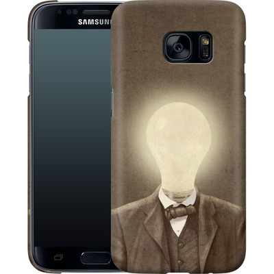 Samsung Galaxy S7 Smartphone Huelle - The Idea Man von Terry Fan