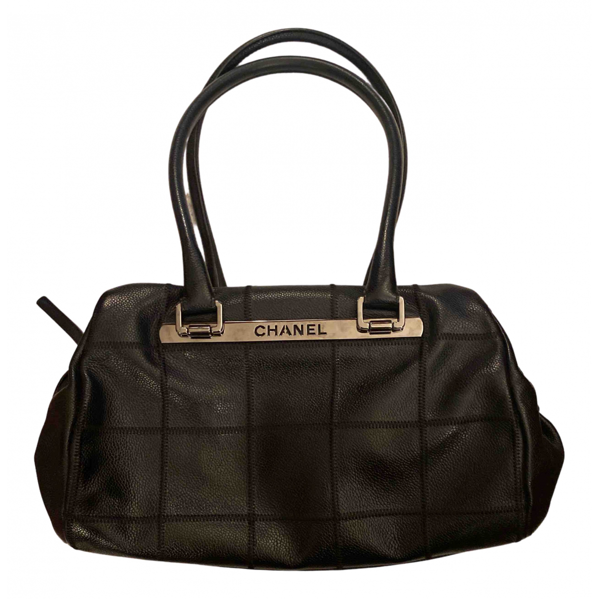 Bolso boston Bowling Bag de Cuero Chanel