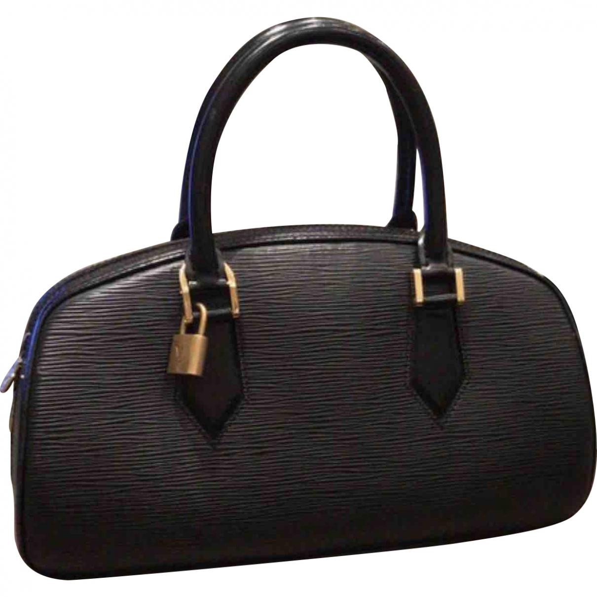 Louis Vuitton Jasmin Black Leather handbag for Women \N