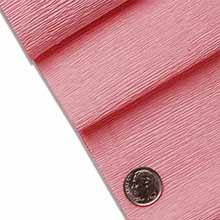 Light Pink Premium Crepe Paper Colored - 19 X 250cm(8.2ft) - Wraps - Type: Extra Heavy by Paper Mart