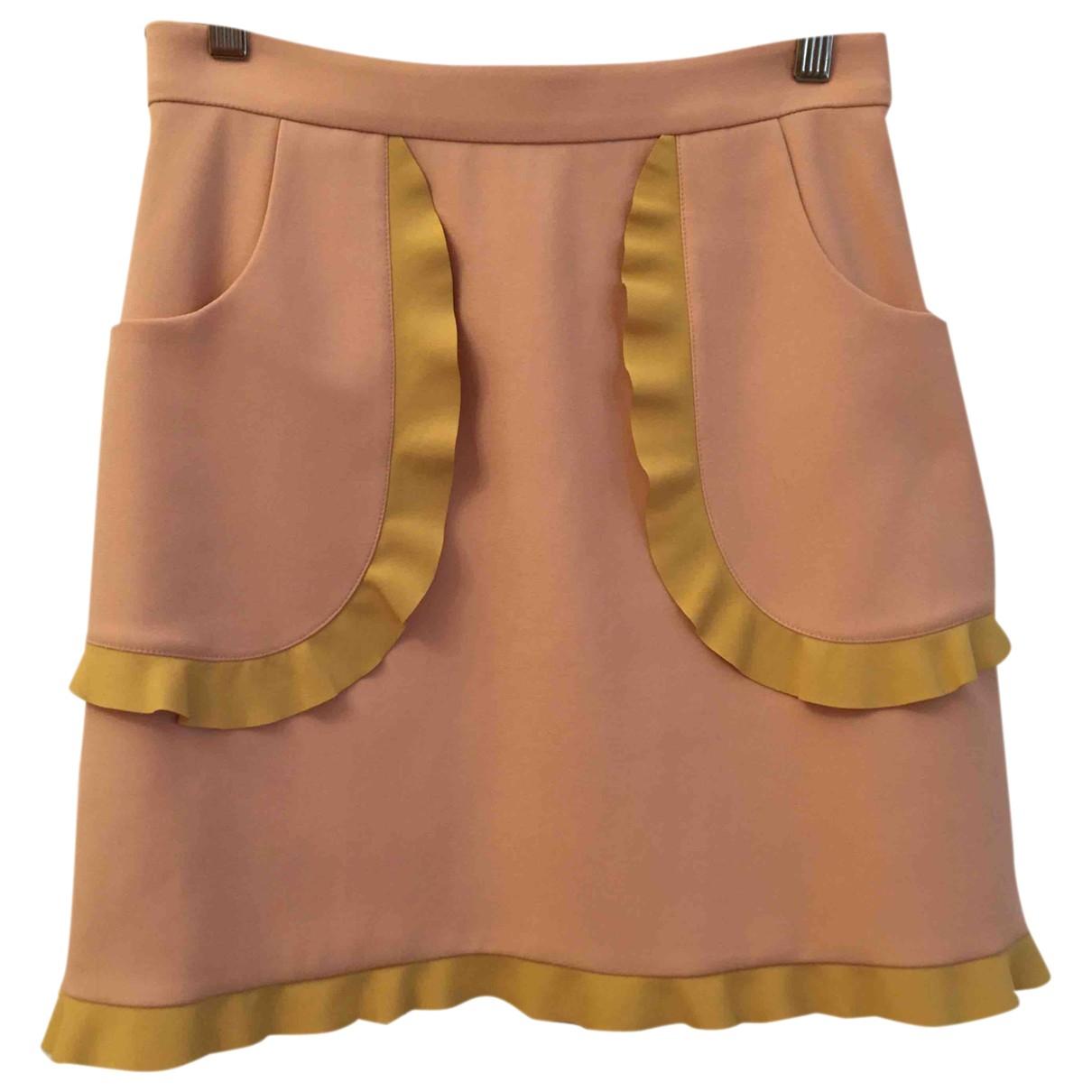 Red Valentino Garavani \N Pink skirt for Women 40 IT