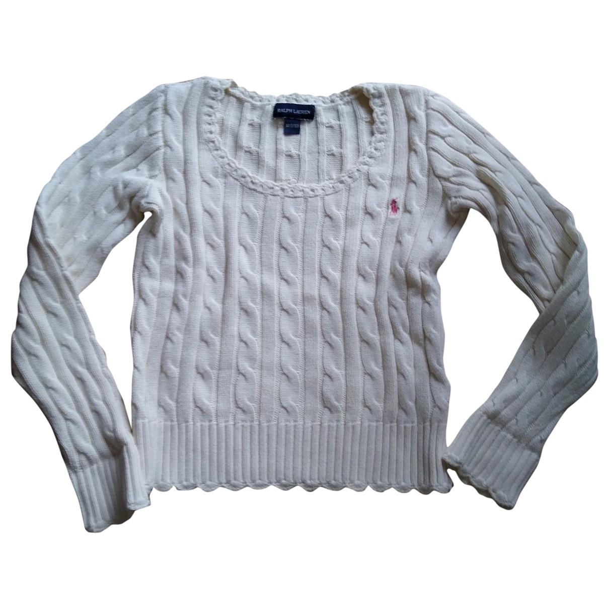 Ralph Lauren \N Beige Cotton Knitwear for Kids 8 years - up to 128cm FR