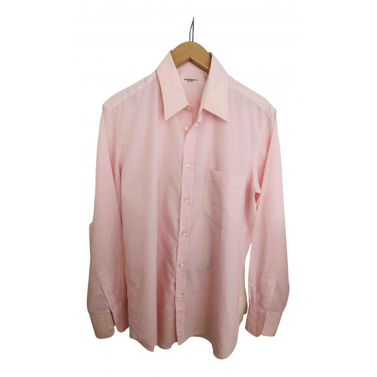 Yves Saint Laurent \N Hemden in  Rosa Baumwolle