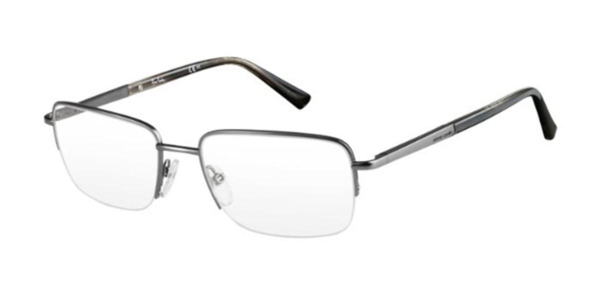 Pierre Cardin P.C. 6818 KKM Men's Glasses Silver Size 54 - Free Lenses - HSA/FSA Insurance - Blue Light Block Available