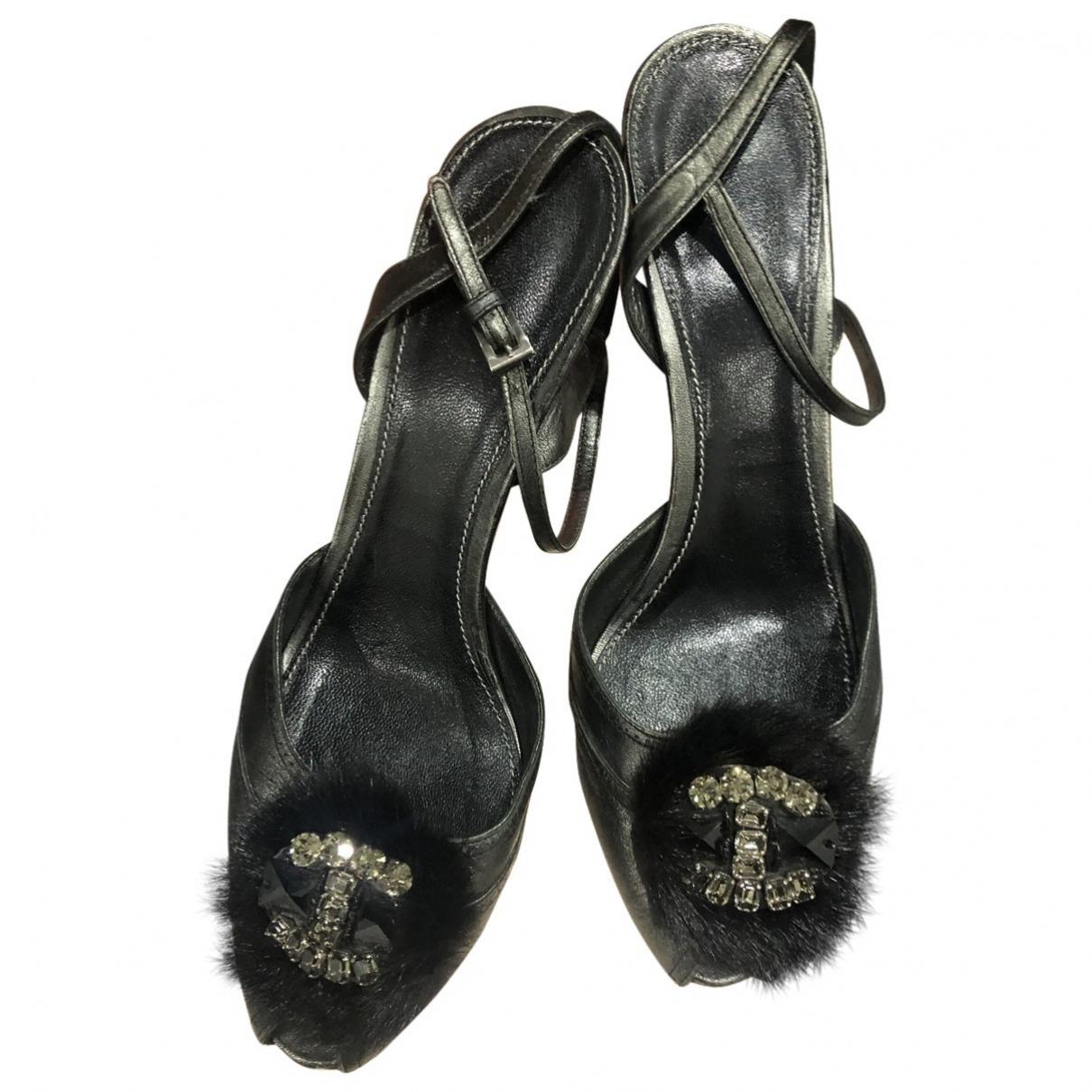 Prada \N Fur Sandals for Women 41 EU