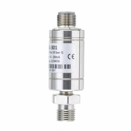 RS PRO Pressure Sensor, 150psi Max Pressure Reading Analogue