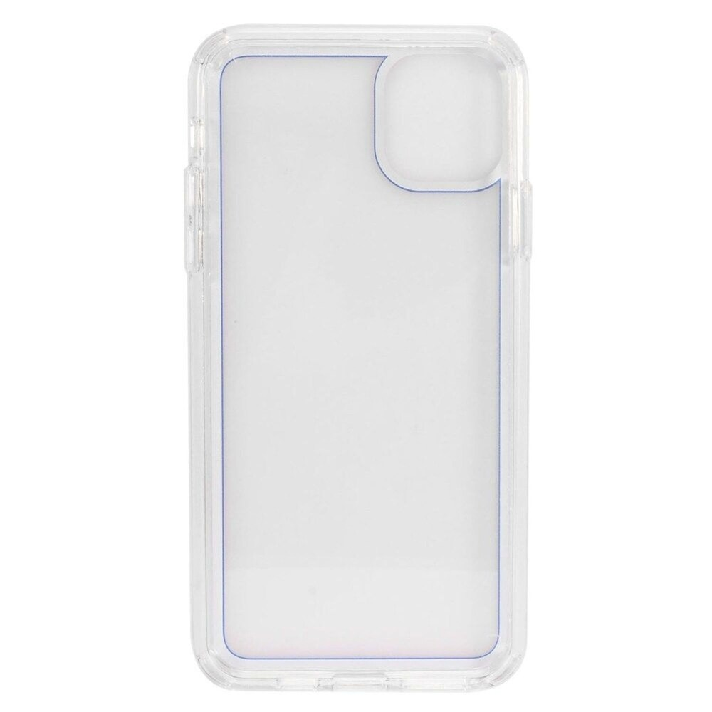 Insten Bumper Acrylic Clear Plastic TPU Case For Apple iPhone 11 Pro Max - Blue (Blue)