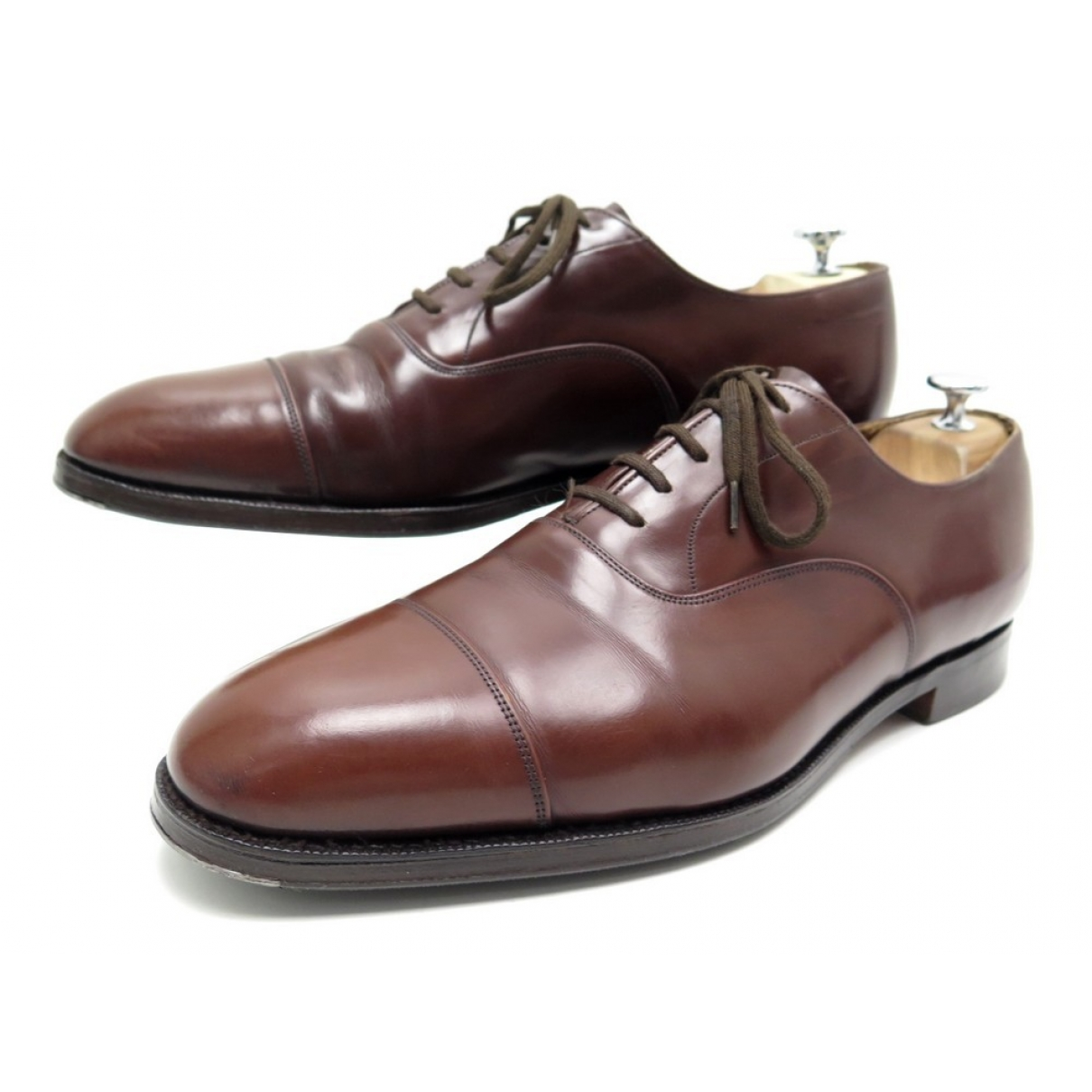 Church's N Brown Leather Lace ups for Men 44 EU
