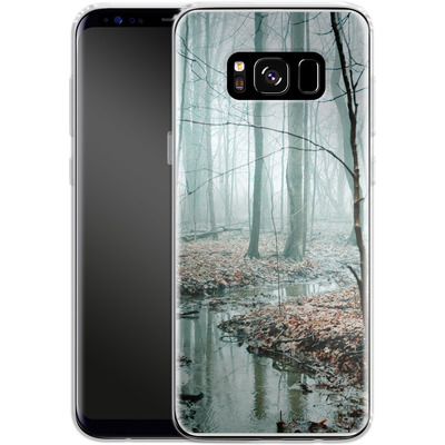 Samsung Galaxy S8 Silikon Handyhuelle - Gather Up Your Dreams von Joy StClaire