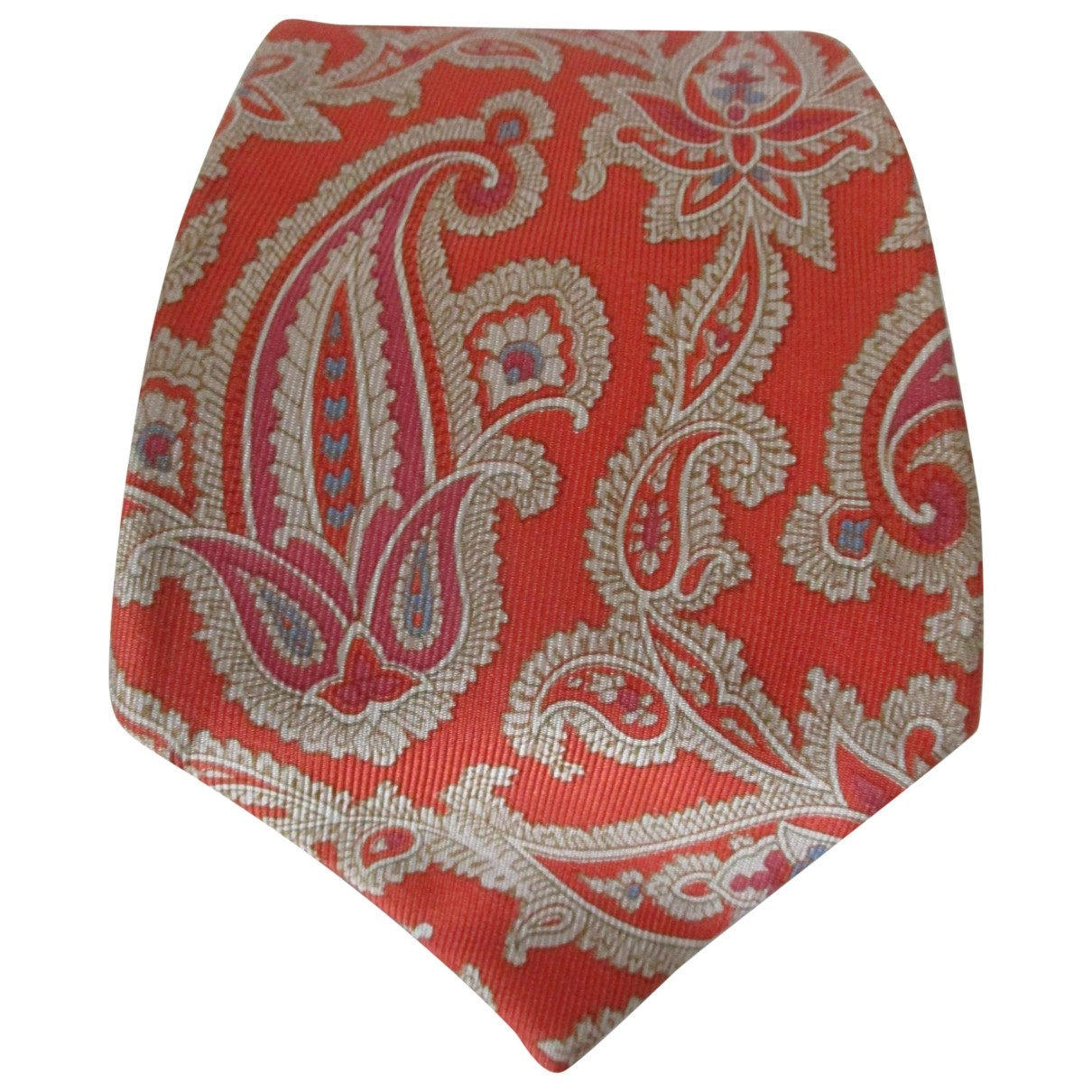 Etro \N Multicolour Silk Ties for Men \N