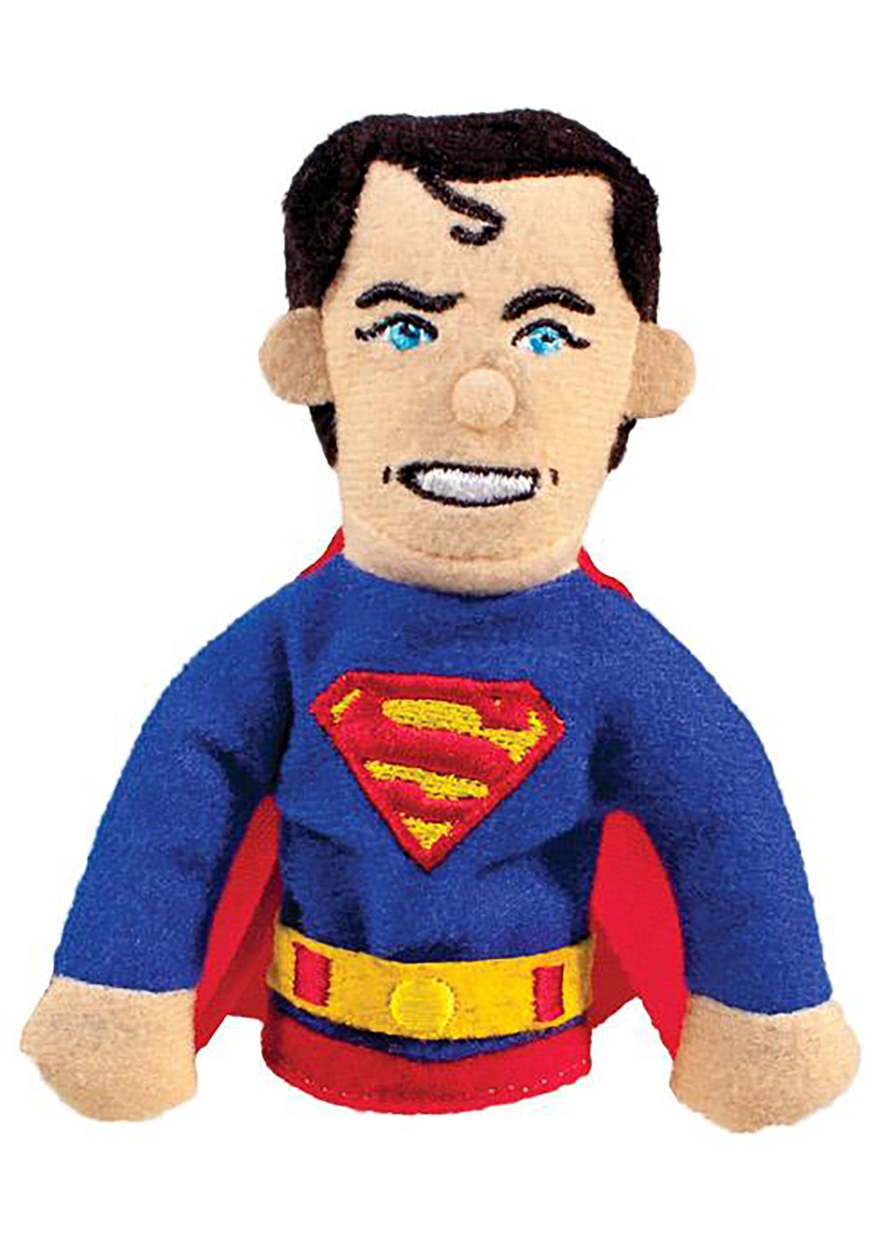 Superman Finger Puppet and Refrigerator Magnet