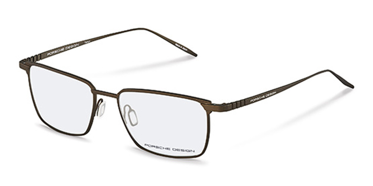 Porsche Design P8360 D Men's Glasses Brown Size 54 - Free Lenses - HSA/FSA Insurance - Blue Light Block Available