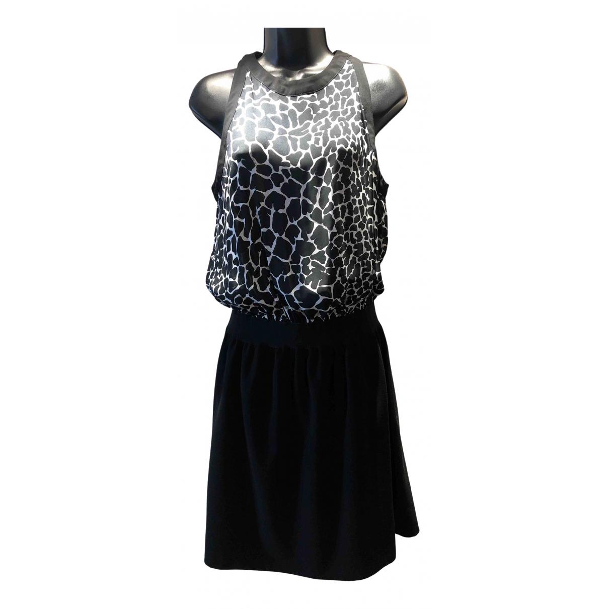 Trussardi Jeans \N Kleid in  Schwarz Polyester
