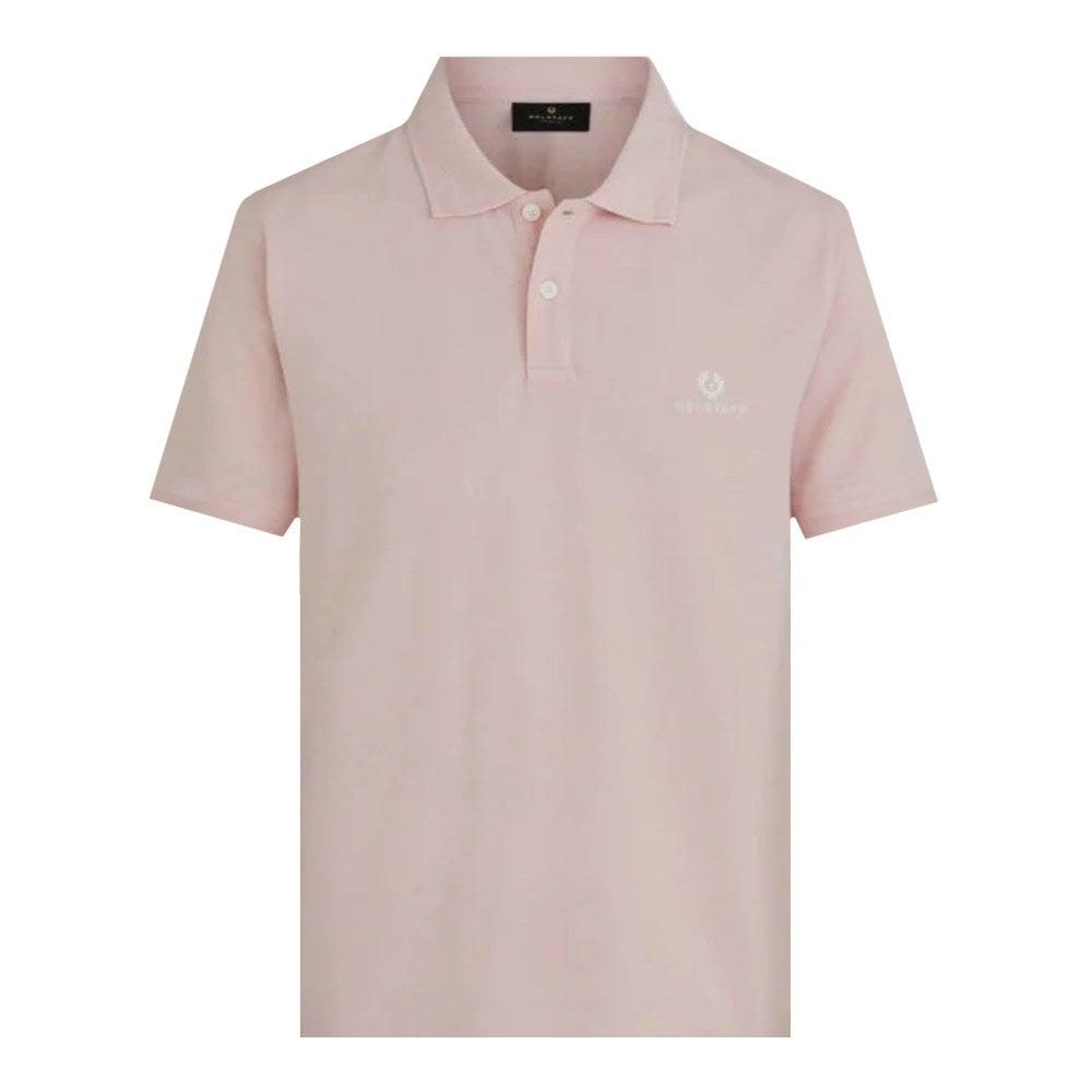 Belstaff Short Sleeve Polo Size: MEDIUM, Colour: PINK