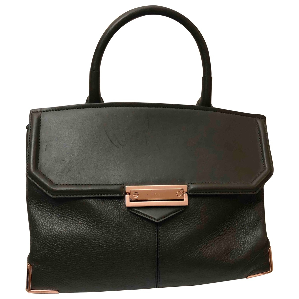 Alexander Wang \N Green Leather handbag for Women \N