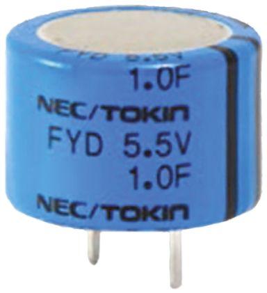 KEMET 47000μF Supercapacitor EDLC -20 → +80% Tolerance, Supercap FY 5.5V dc, Through Hole (2)