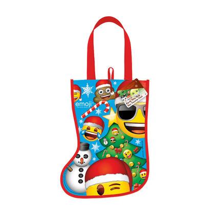 Emoji Christmas Stocking Tote Bag, 13